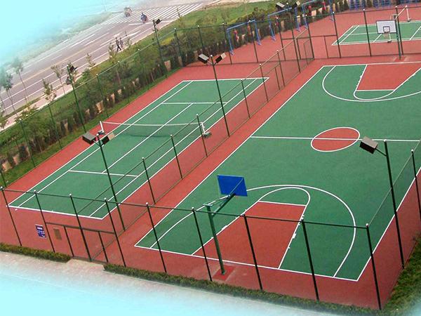 篮球场改造硅PU场地要注意些什么